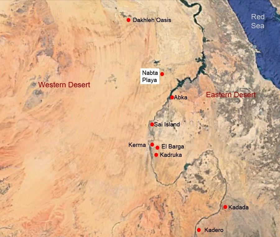 Saharan Neolithic |Nabta Playa Monolith